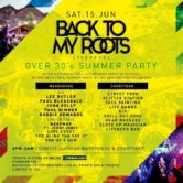 Back 2 My Roots – Over 30's Night