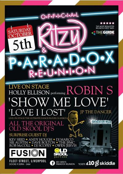 Paradox and Ritzy Reunion 2019