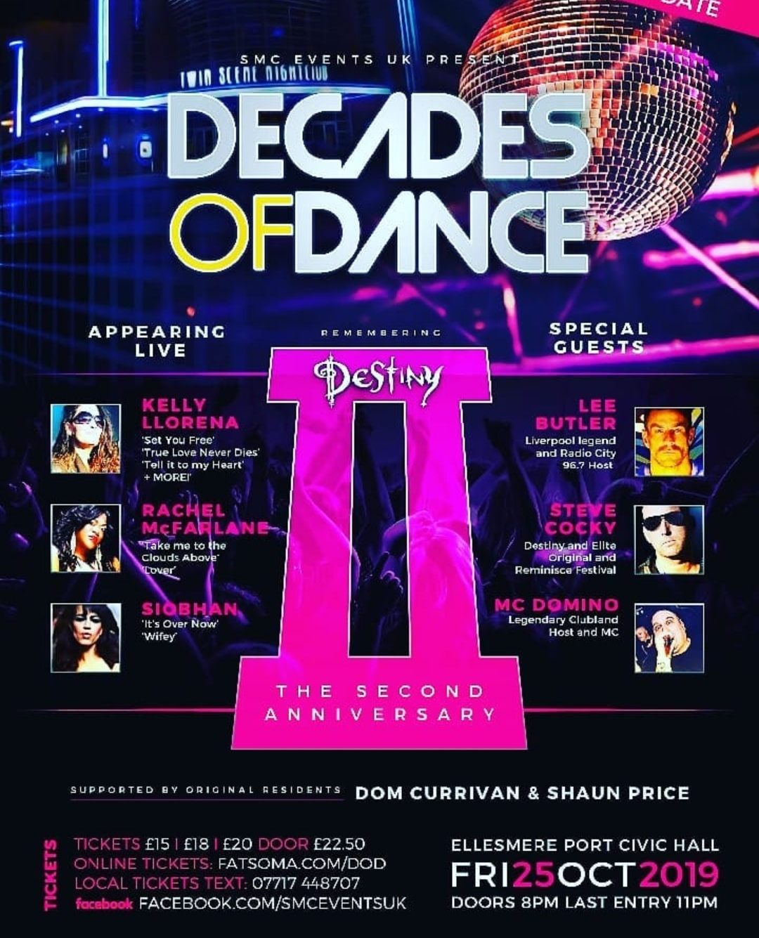 Decades of dance 2 Ellesmere port