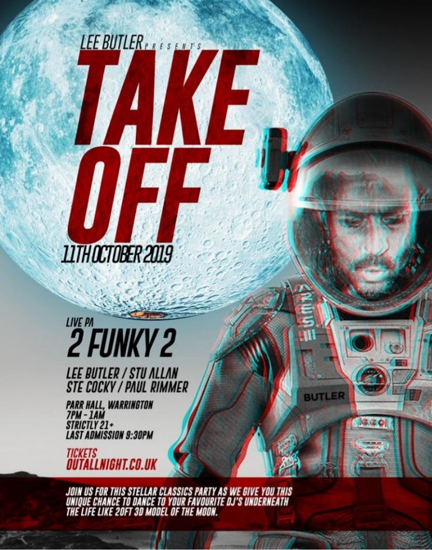 Lee Butler presents Take off