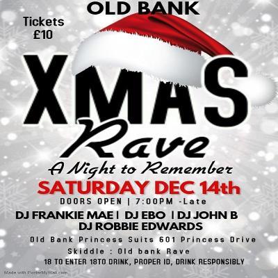 Christmas Old skool rave Liverpool