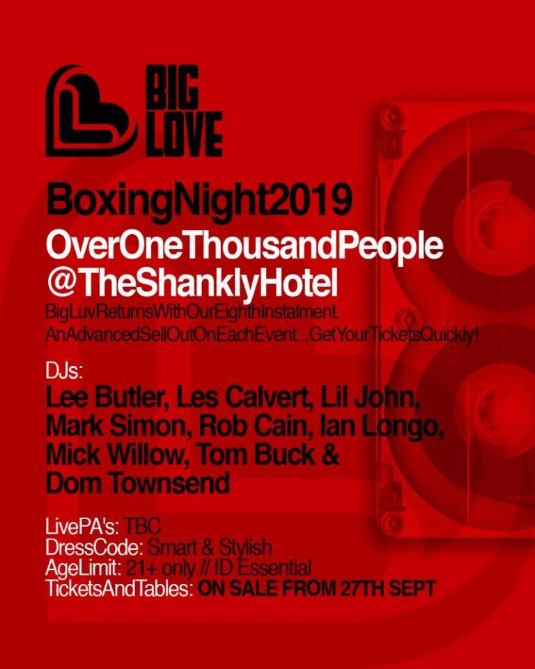 Big Luv Boxing night 2019