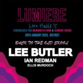 lumiere love halle: back to the old skool tickets