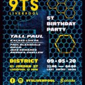 9ts liverpool – 1st birthday ft tall paul, k-klass live pa tickets